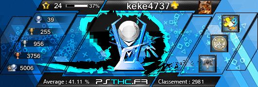 Carte des trophées de keke4737