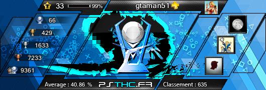 Trophées de gtaman51