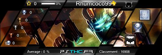 Carte des trophées de Rhumcoco99