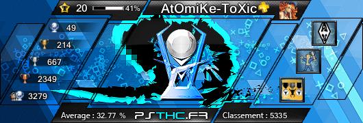 Trophées de AtOmiKe-ToXic