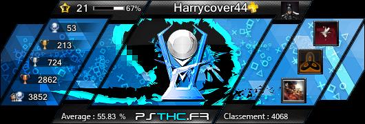 Carte des trophées de Harrycover44