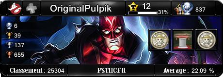 Trophées de OriginalPulpik